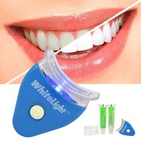 Healthy Teeth 1 Set White LED Light Whitening Teeth Gel Super Bright Oral