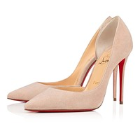Christian Louboutin 2021 New pointed high heels  100 mm