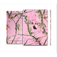 The Pink Real Camouflage Skin Set for the Apple iPad Air 2