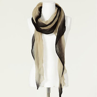 SCARF WITH CONTRASTING BORDER - Scarves - Collection - Woman - ZARA Portugal