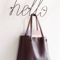 Hello Wall Hook | Urban Outfitters