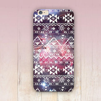 Tribal Pattern Galaxy Phone Case - iPhone 6 Case - iPhone 5 Case - iPhone 4 Case - Samsung S4 - iPhone 5C - Tough Case Matte Case - Samsung