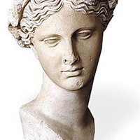 Thalia Greek Muse of Comedy and Poetry Bust 15.25H