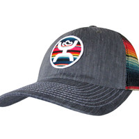 HOOey SERAPE TRUCKER Cap ~ low-profile hat team calf breakaway roper