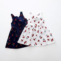 Baby Girl Dress Cheap 2017 Fashion Toddler Girl Dress For School Party And Wedding Infant Clothes Princess Girl Halter Dresses