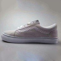 Vans With Warm Casual Shoes Men and women classic black cloth shoes