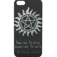 Supernatural The Family Business iPhone 5 Case