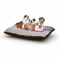 """Chelsea Victoria """"Make Waves"""" Pink Photography Dog Bed"""
