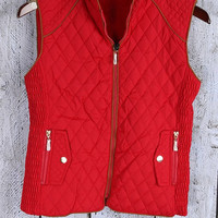 Carefree Quilted Vest - 3 Options