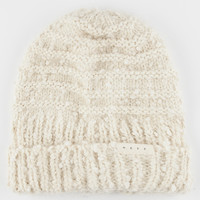 Neff Rosie Boucle Beanie Ivory One Size For Women 26524116001