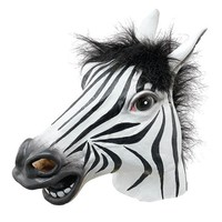 Zebra Mask : Latex Animal Mask