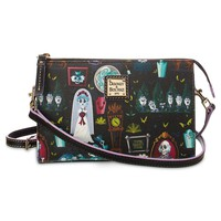 Disney Dooney & Bourke Haunted Mansion Wicked Cast Of Characters Crossbody New