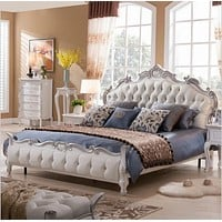 Treaditonal & Trendy King Size Soft Bed Furniture