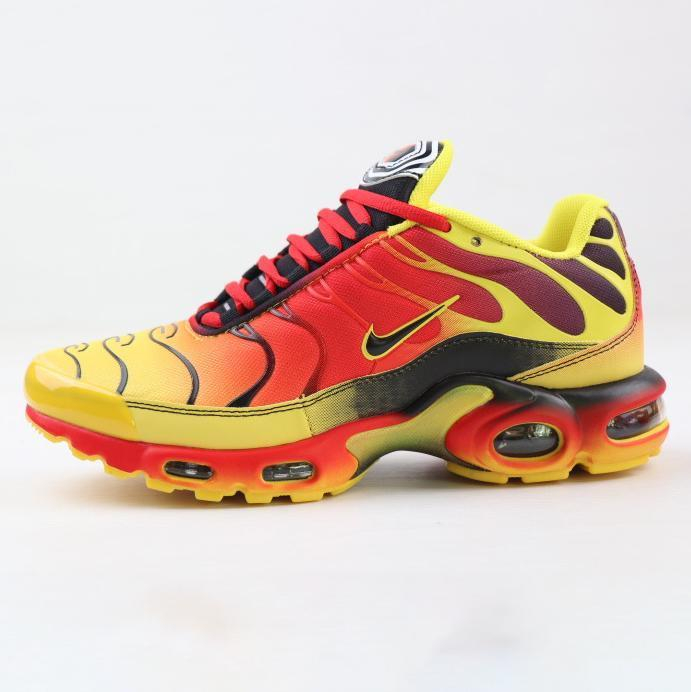 Image of NIKE AIR MAX PLUS New fashion hook sports leisure running men shoes