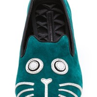 Rue Cat Flat Loafers