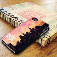 Sunset In New York City iPhone 5   iPhone 5S Case