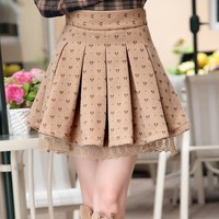 Autumn and Winter Lace Skirt