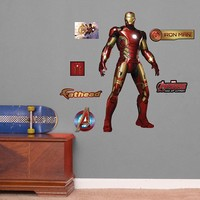 Avengers: Age of Ultron Iron Man Wall Decals by Fathead Jr.