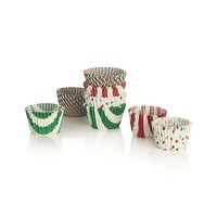 Holiday Mini Cupcake Papers Set of 100