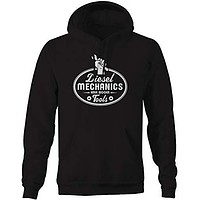 Champs Supply Diezel Mechanics Have Bigger Tools Wrench Nuts Semi Trucking Hoodies for Men