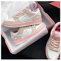 """NIKE SB Dunk Low """"Pigeon Pink"""" women's low-top Odie sneakers shoes"""