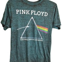 Pink Floyd Dark Size of the Moon Tee Shirt Distressed Style (2X)