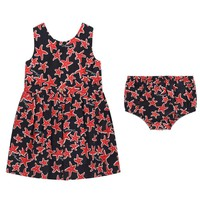 Baby Girls Starfish Dress & Bloomers Set