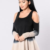 Layers To This Top - Black