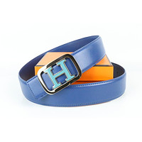 Hermes belt men's and women's casual casual style H letter fashion belt146