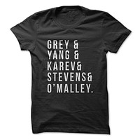 Grey's Anatomy Throwback Cast! T-Shirt