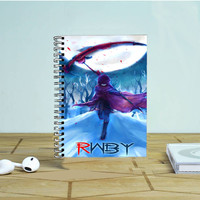 Rwby Scythe Photo Notebook Auroid