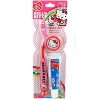 Hello Kitty Toothbrush Travel Kit
