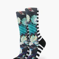 Stance Ghostrider Womens Everyday Tomboy Socks Black One Size For Women 25897810001