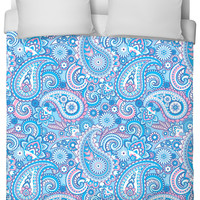 Paisley Printed Bed Set - Duvet Only (matching pillow available)