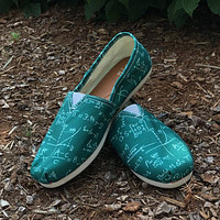 Math Formula Casual Shoes