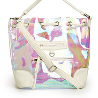 DailyLook: Iridescent Bucket Bag/Backpack