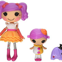 Lalaloopsy Mini Littles Doll, Peanut Big Top/Squirt Lil Top