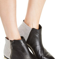 DailyLook: Circus by Sam Edelman Holt Booties in Black / White 5 - 10