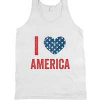 White Tank | Patriotic Shirts