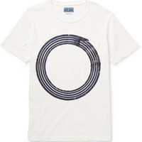 Blue Blue Japan - Printed Cotton-Jersey T-Shirt | MR PORTER