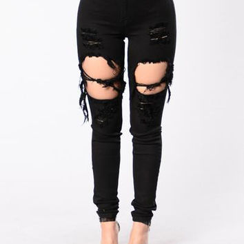 Do You Dirty Jeans - Black