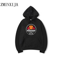 Letter Ellesse Hoodies Sweatshirt Mens Women Fashion autumn winter streetwear Hip Hop White pink black khaki hoodies ellesse men