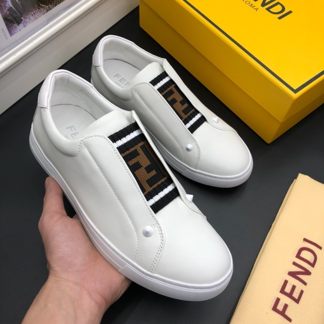 Image of FENDI Fashion Men Women's Casual Running Sport Shoes Sneakers Slipper Sandals High Heels Shoes