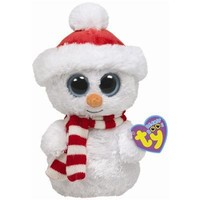 TY Beanie Boos - SCOOPS the Snowman ( Beanie Baby Size )