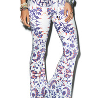 Wildfox Couture American Paisley Beach Bells Multi