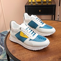 Fendi Fashion Men sports board leisure shoes 2021 men Sneaker Sport Running Shoes