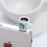Cup of Coffee Smart Phone Plugy LHU214