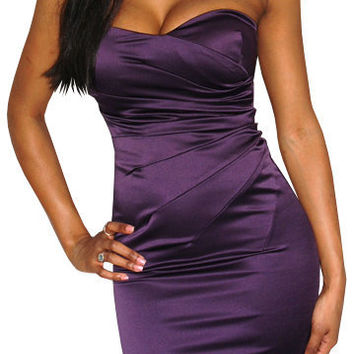 No One Else (Purple)-Great Glam is the web's top online shop for trendy clubbin styles, fashionable party dress and bar wear, super hot clubbing clothing, stylish going out shirt, partying clothes, super cute and sexy club fashions, halter and tube tops,