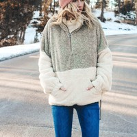 Two Tone Sherpa (Taupe)