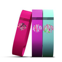 Fitbit Flex Decal, Monogram Fitbit decal, Lilly fitbit Flex (3 decals)